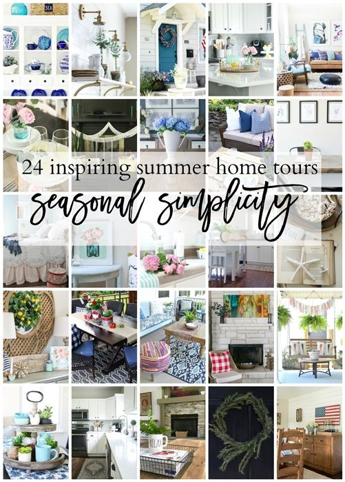 Summer Decorating Ideas: Home Tour 2017 | House and Apartment Tours