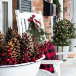 Christmas Farmhouse Porch Decor