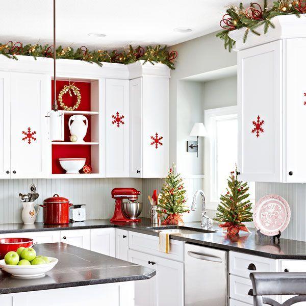 Ideas for a creative Christmas kitchen decor - Ann Arbor Stone & Tile