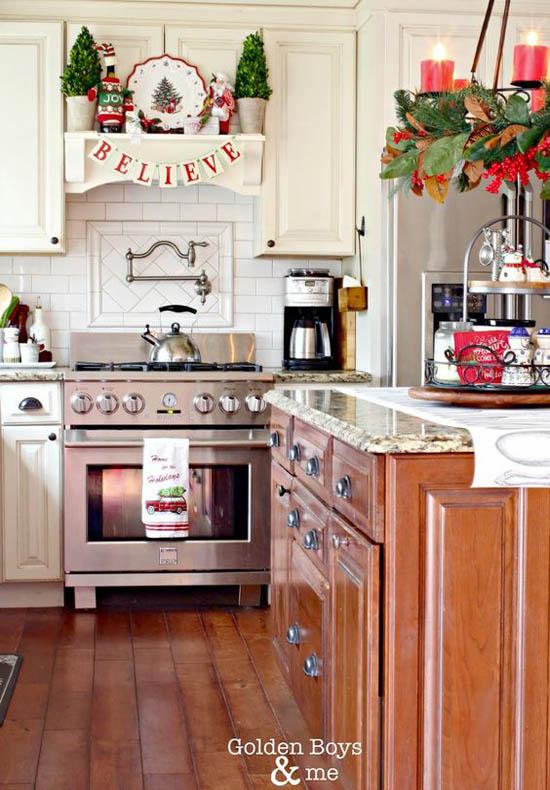 Christmas Kitchen Decor Ideas 4