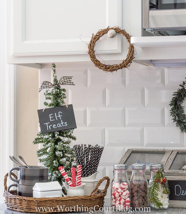 Christmas In My Farmhouse Kitchen | Worthing Court's Seasonal Decor