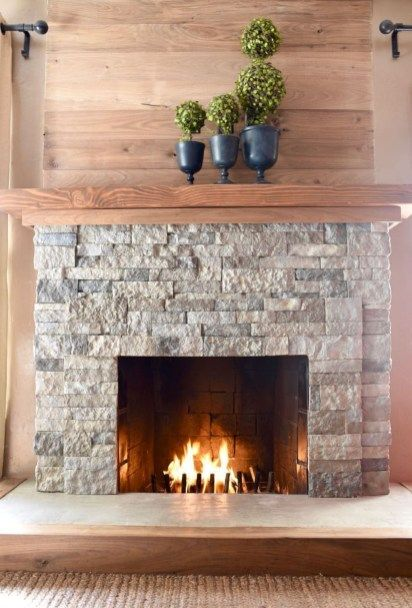 38 Stunning Clad Cover Fireplace Ideas | Fireplaces | Airstone