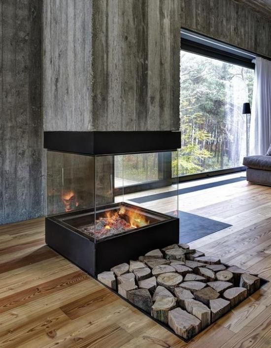 20+ Cool and Stylish Ways To Clad Or Cover A Fireplace