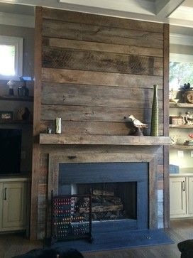 Clad Cover Fireplace Ideas