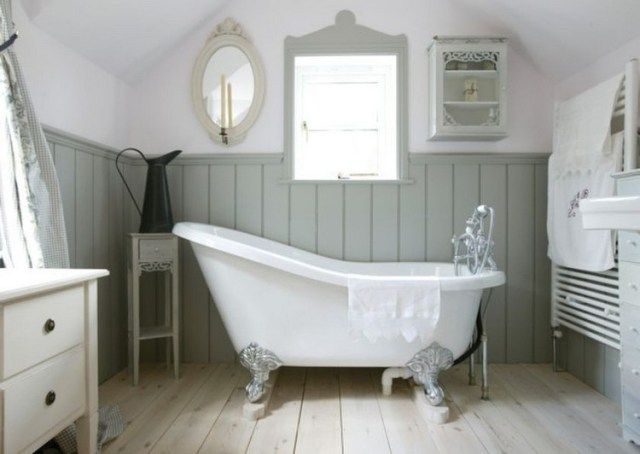 35+ Amazing Fabulous Classic Country Bathtub Ideas | Bathroom