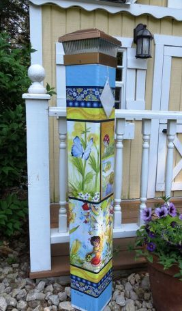 Colorful Peace Poles Design Ideas 13 | Gardening | Peace pole