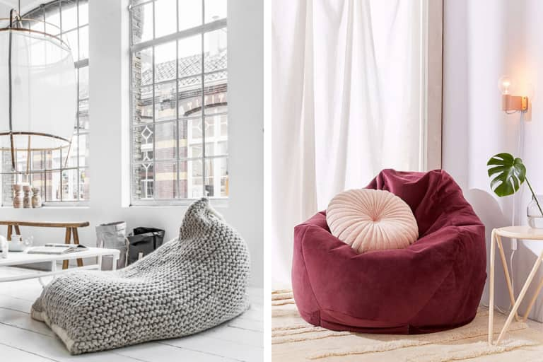 Believe It or Not: 10 Surprisingly Stylish Beanbag Chairs