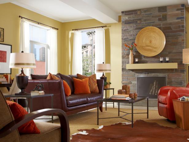 Contemporary Living Room Decorating Ideas & Design   HGTV