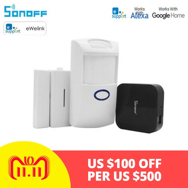 Sonoff Bridge Smart Home Switch Diy 433MHZ RF Remote Convert WiFi