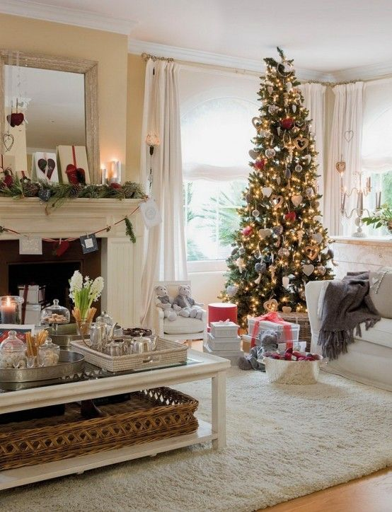 Dreamy Christmas Living Room Decor Ideas | Xmas Indoors | Modern