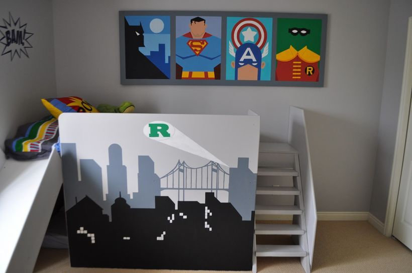 60 Cool Superhero Themed Room and Decoration Design | Interiors