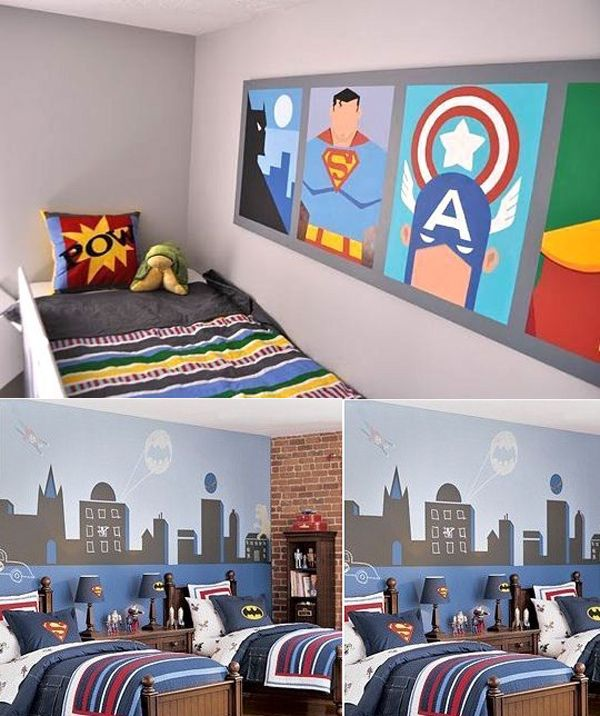 Boys room ideas - Boys bedroom ideas - Boy room decor - Little Boys