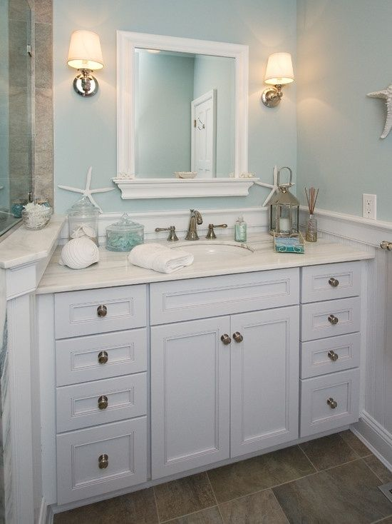 Beach Cottage Bathroom Ideas & Decor You'll Love | Cottage & Bungalow