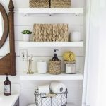 Country Bathroom Shelves Ideas