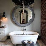Country Mirror Bathroom Decor Ideas