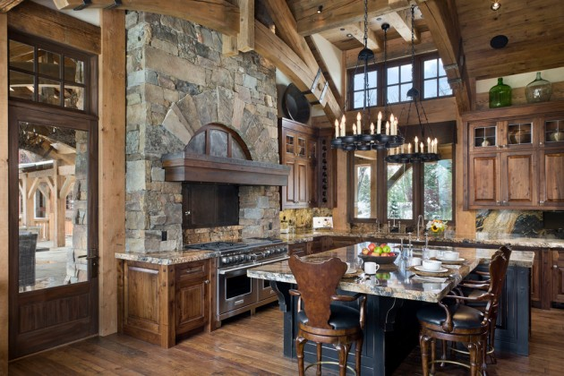 Cozy Rustic Kitchen Designs 1