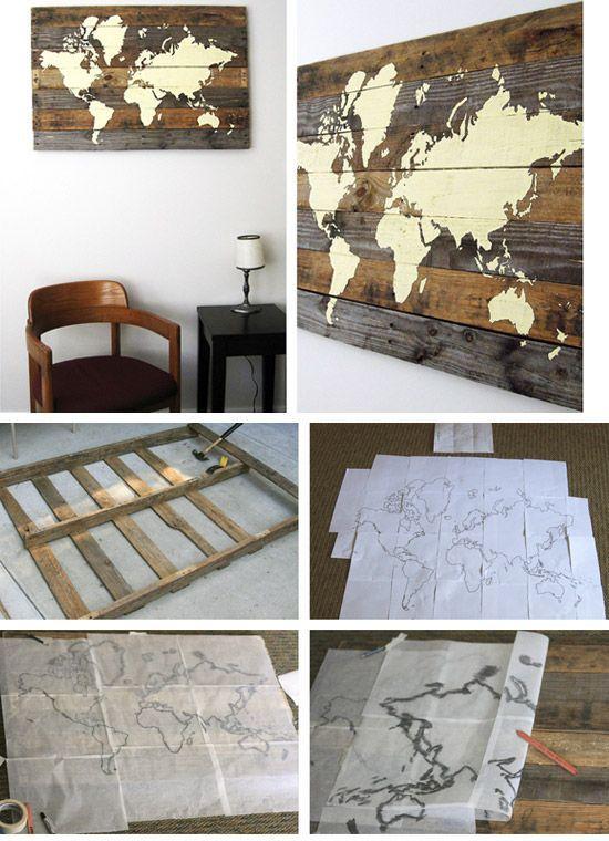 Create Wall Art from Styrofoam and Scrapbook Paper | Urban Decor