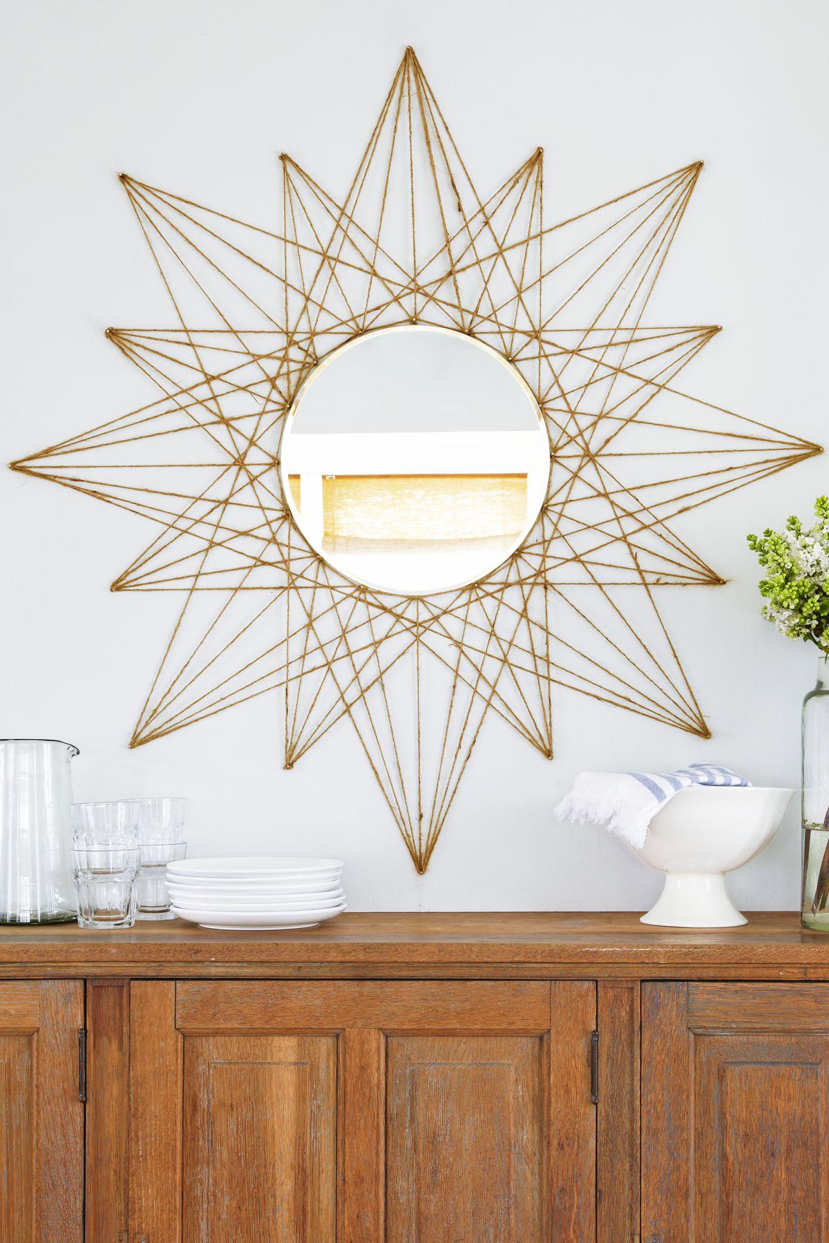 25 DIY Home Decor Ideas - Cheap Home Decorating Crafts
