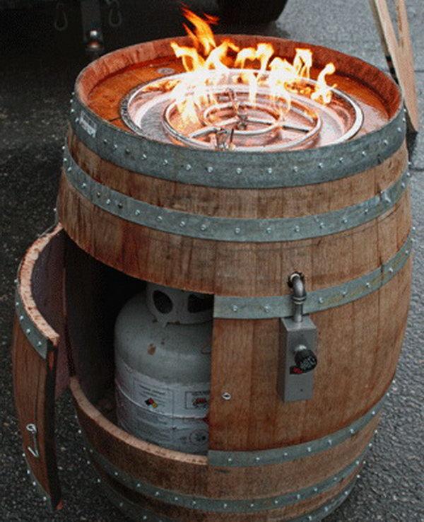 15 Creative DIY Wine Barrel Project Ideas