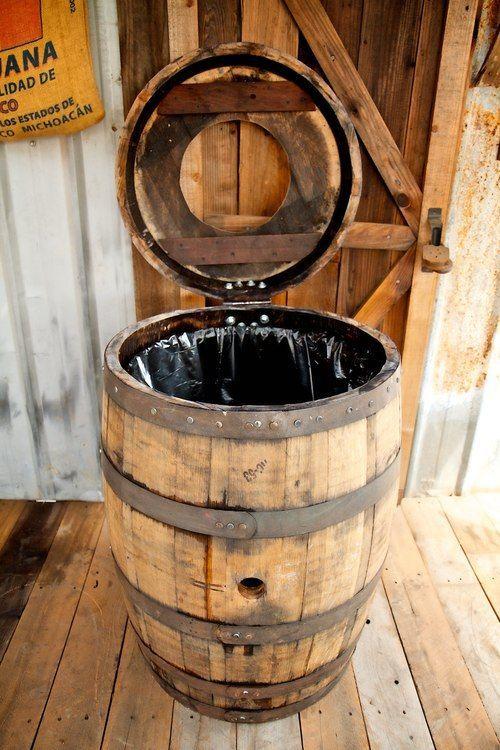 35 Genius Ways People Are Repurposing Whiskey & Wine Barrels - How
