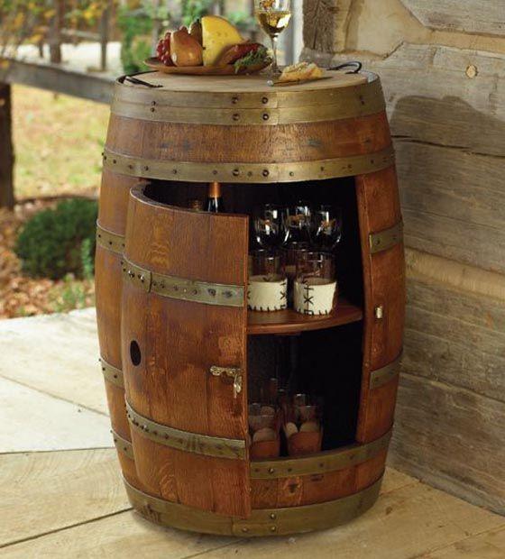 Creative Ideas Using Old Wine Barrels