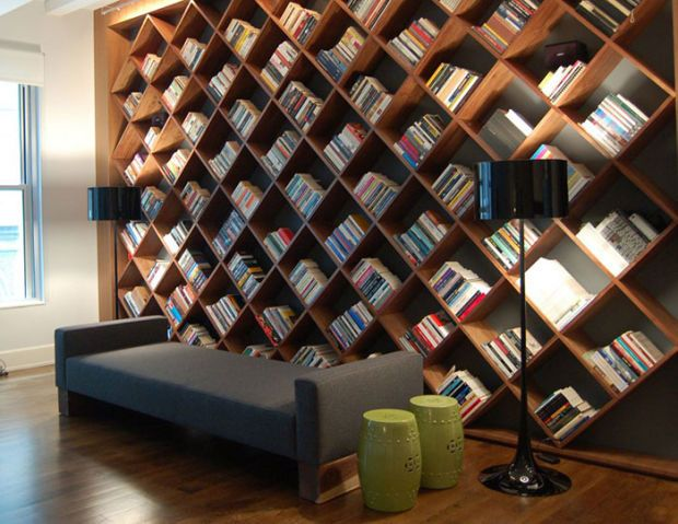 The 22 Most Creative Bookshelf Designs Ever | Shelves | Home library