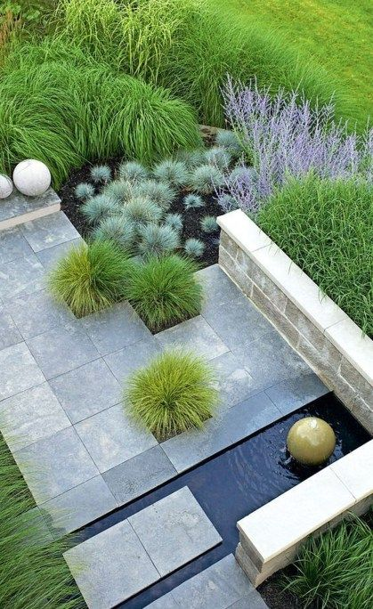 50 Cute Backyard Garden Ideas | Plants | Garden, Modern backyard