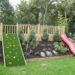 Cute Backyard Garden Playground Ideas
