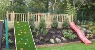 Creative and Cute Backyard Garden Playground for Kids (10