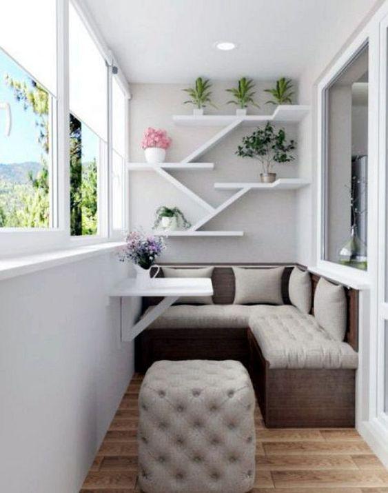 24 Modern Small Balcony Design Ideas For Apartment | Apartment Ideas