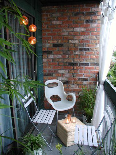Design Apartment Small Balcony 4