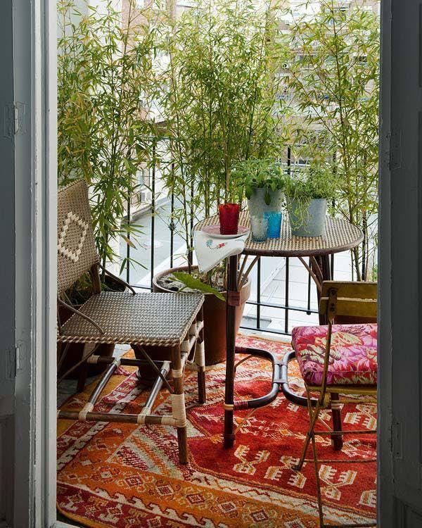 Design Apartment Small Balcony 9