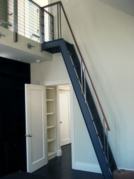 Staircase To Attic Design Ideas, Pictures, Remodel, and Decor | Home