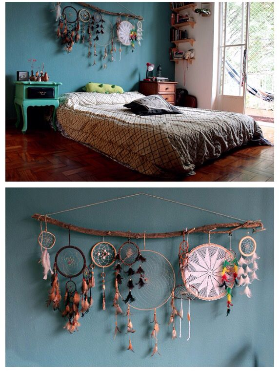 Pin by Daniela Pinter on dreamcatcher | Bohemian bedroom design