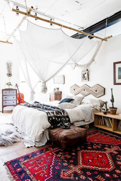 Diy Bohemian Bedroom Decoration Ideas