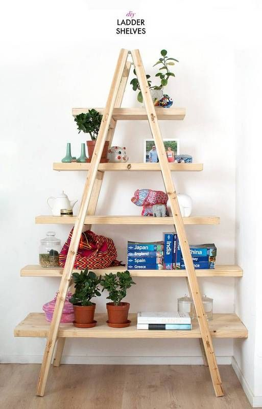 45 DIY Bookshelves: Home Project Ideas That Work | Useful Scraps of