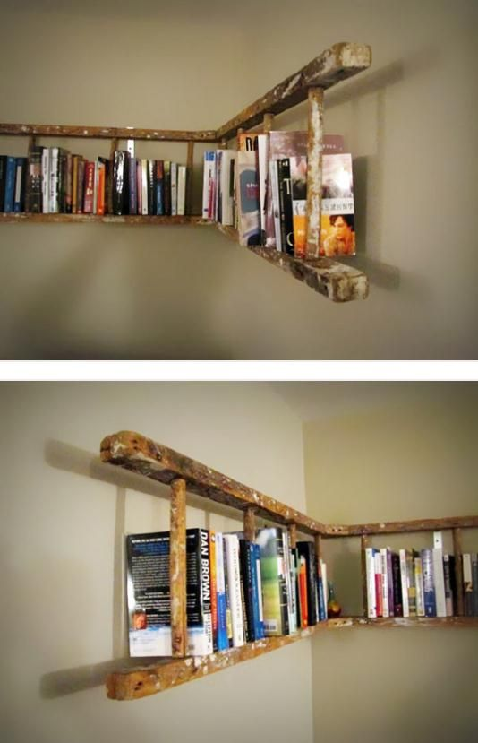25 Awesome DIY Ideas For Bookshelves | Dream Home - Things To