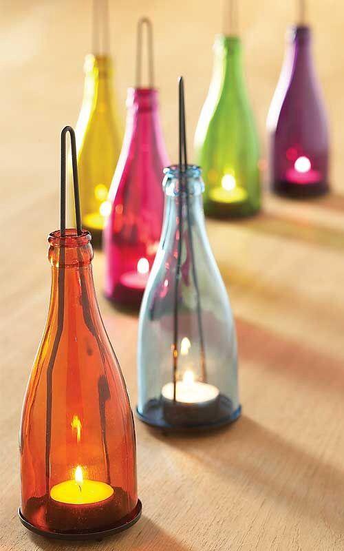 Diy Bottle Lamp Ideas 1