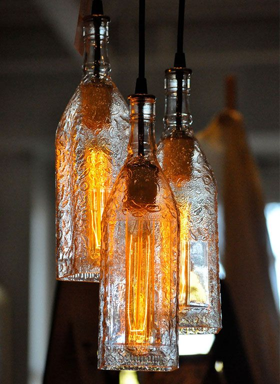 10 DIY Bottle Light Ideas - Pretty Designs