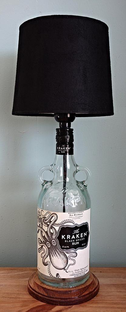 Diy Bottle Lamp Ideas 3