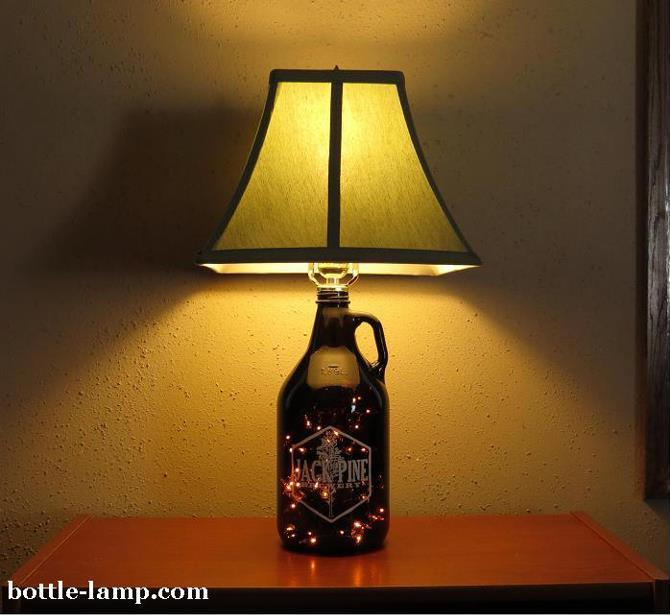 Diy Bottle Lamp Ideas Savillefurniture