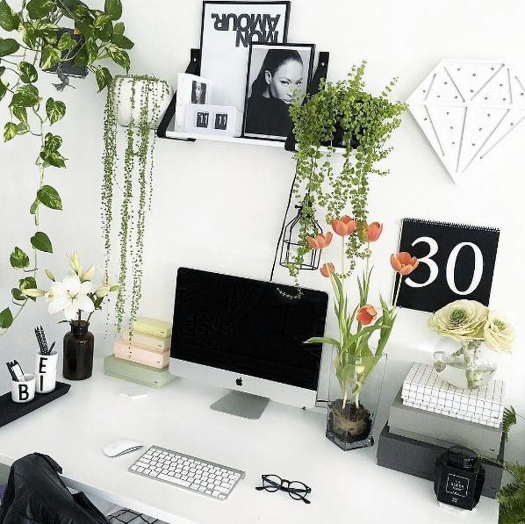37 Diy Decor Ideas For Better Working Space - TREND4HOMY