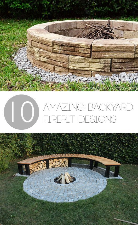 20+ Attractive DIY Firepit Ideas | DIY house decor | Fire pit