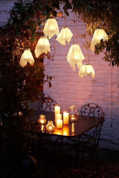 DIY Outdoor Lanterns | Craft Ideas | Outdoor Entertaining Idea