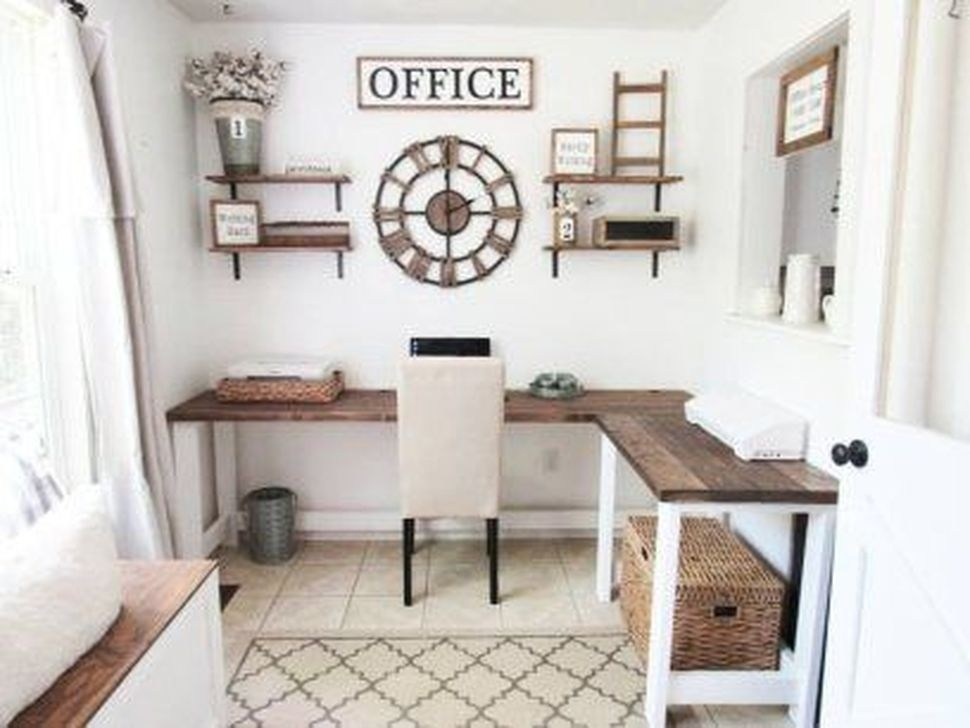 99 Unique Diy Home Office Decor Ideas - 99BESTDECOR