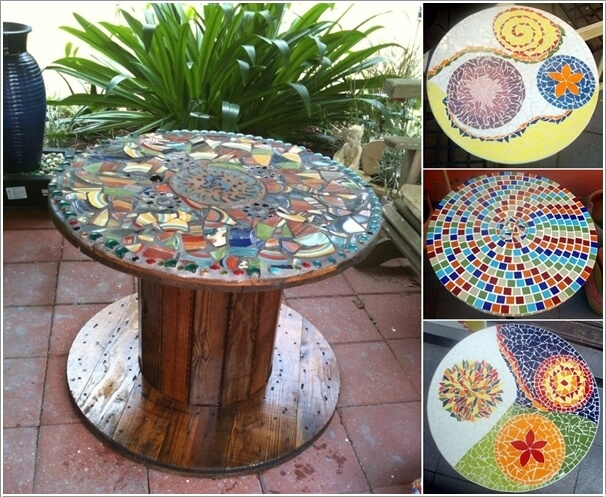 12 DIY Mosaic Garden Decor Projects