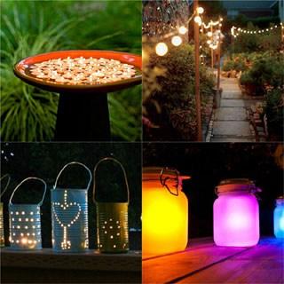 28 Stunning DIY Outdoor Lighting Ideas ( & So Easy! ) - A Piece Of