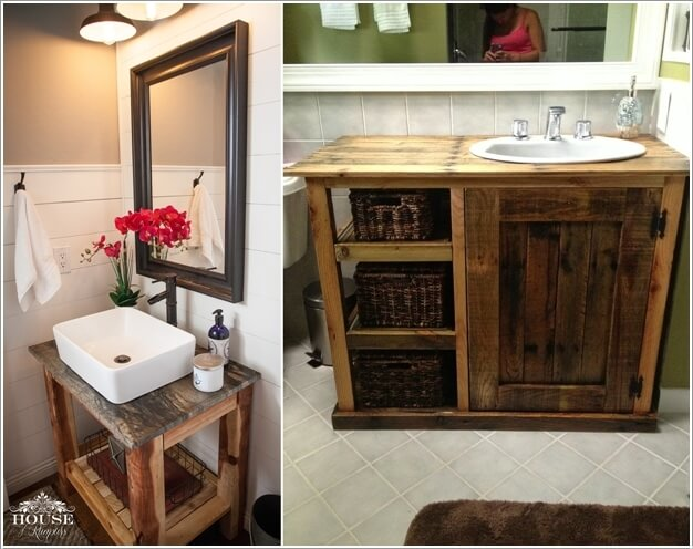 Diy Pallet Projects For Bathroom 11