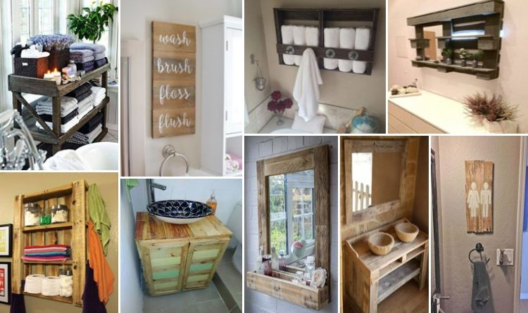 12 DIY Pallet Projects For Your Bathroom u2013 Dreams in Life