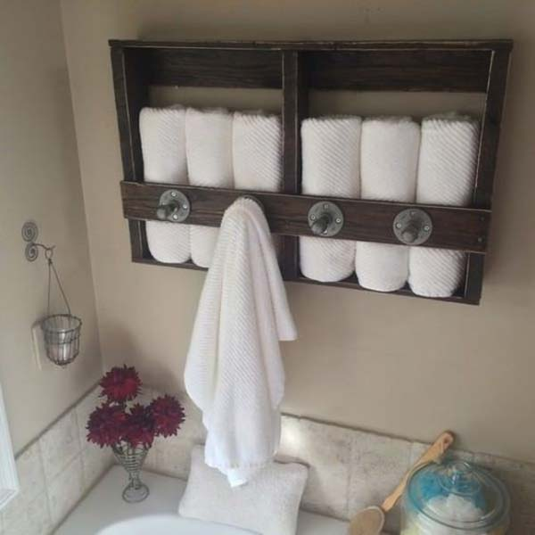 Diy Pallet Projects For Bathroom 7